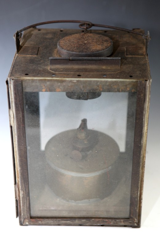 Railway lamp A/F with burner