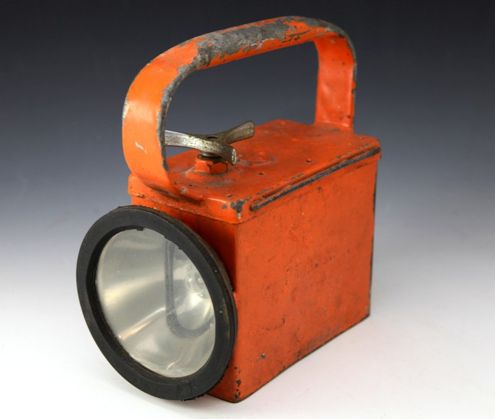 PTC shunters lamp orange battery operated