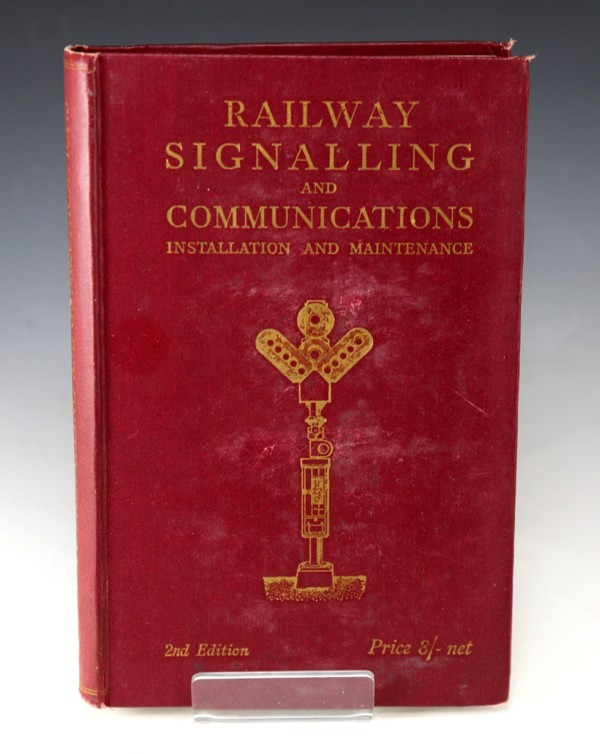UK railway signal communications book