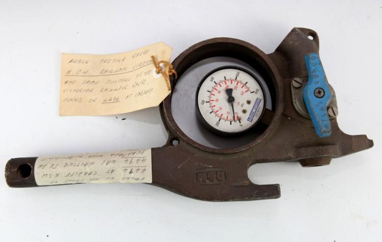 NSWGR Brake Gauge Tester