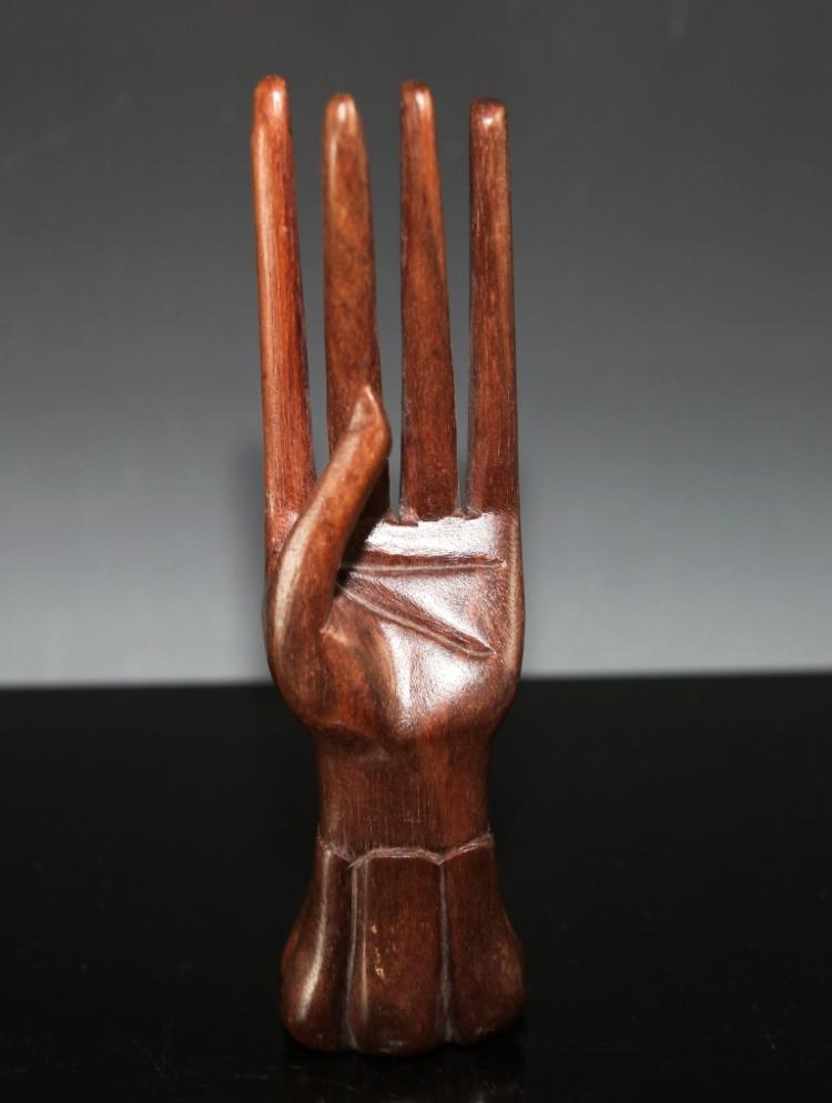 Carved wood ring holder for How to carve a wooden ring