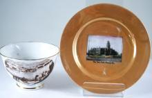 2 Souvenir ware china pieces- Brisbane and Ararat