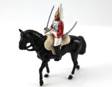 1984 Britain's Horse Guard metal figure