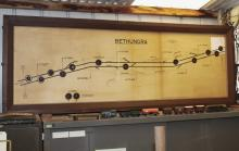 Bethungra Yard Signal Diagram
