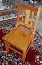 NSWGR wooden railway chair