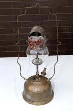 Victorian Railway Tilley lamp VR422 ex Eurroa – missing shade