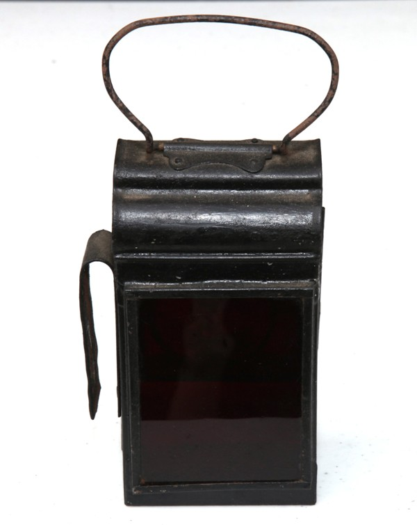 Early shunters lamp – small -side mounted handle