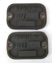 2x Brass 81 Class bogie plates