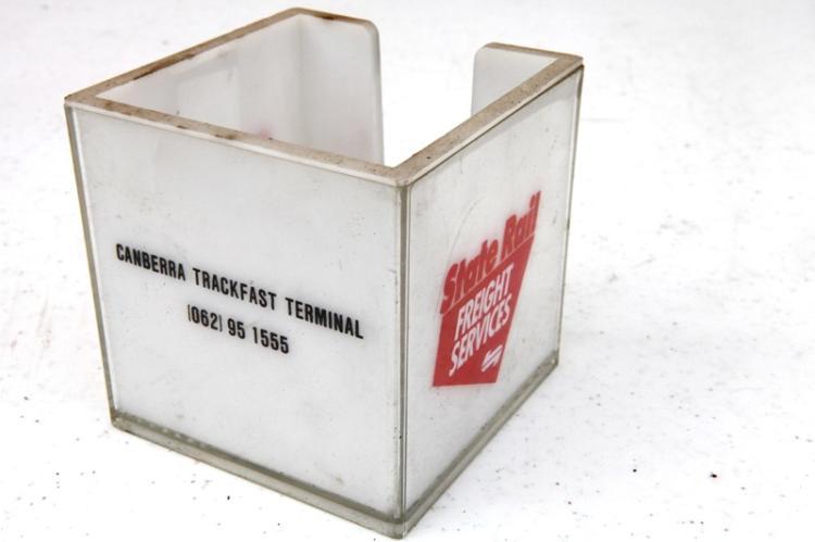 Canberra Trackfast plastic card box