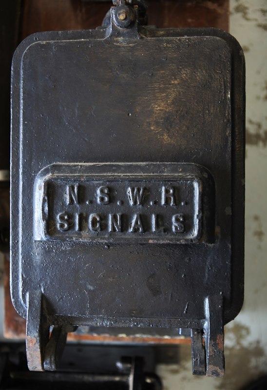 NSWR Signals Box
