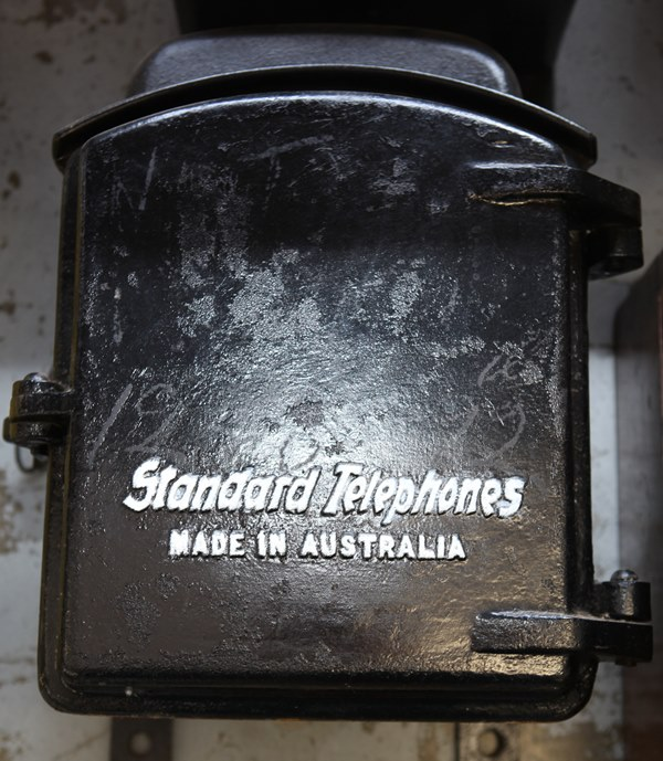 Railway Iron Phone - Standard Made in Aust