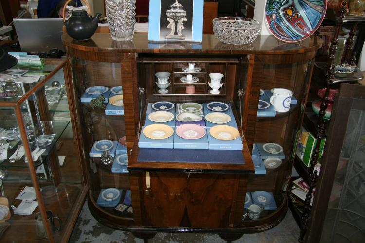 Vintage Display Cocktail Cabinet