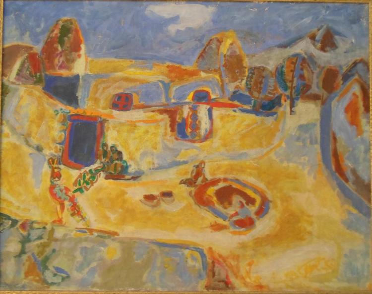 Robert Elibekian( Armenian, b. 1941 )