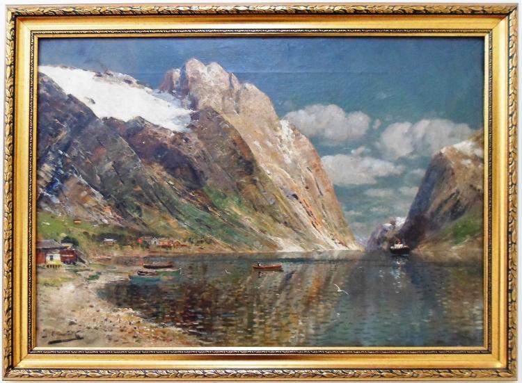 Joseph Holmstedt ( Austrian, 1841 - 1918 )