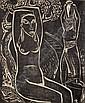 CARL RABUS Kempten 1898 - 1983 Murnau Sitzender, Carl Rabus, Click for value