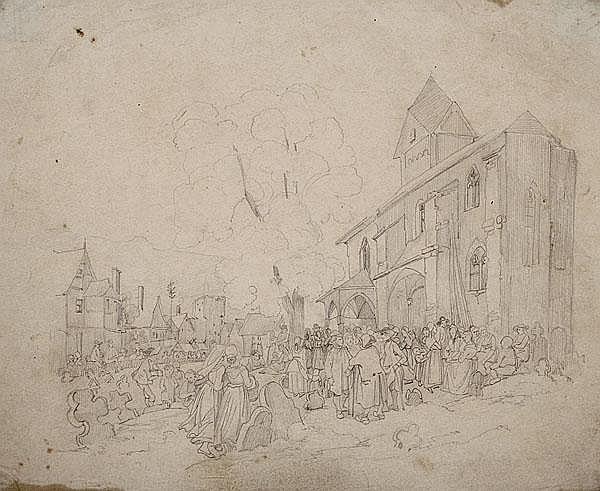 JAKOB FÜRCHTEGOTT DIELMANN 1809 - Frankfurt/M. -
