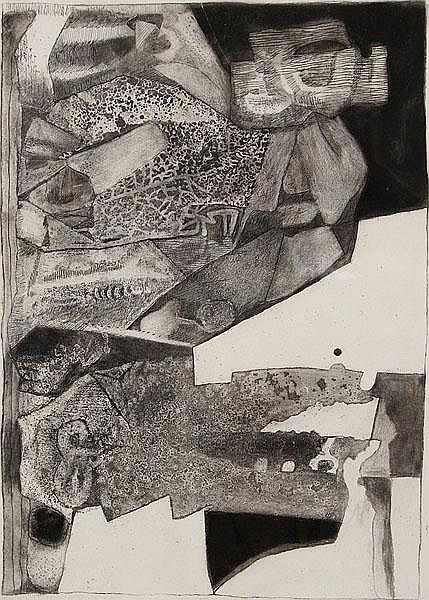JOSEPH FASSBENDER 1903 - Köln - 1974 Abstrakte