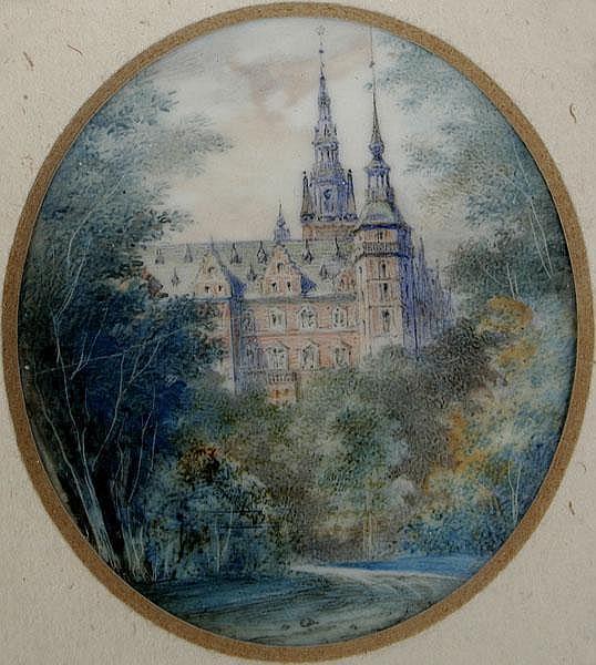 EDWARD YOUNG Prag 1823 - 1882 München Blick auf