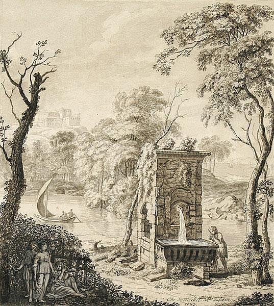 CHRISTIAN VON MECHEL Basel 1737 - 1817 Berlin