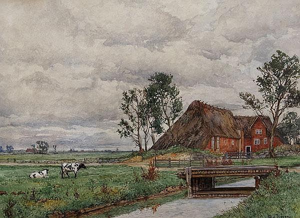 GOTTFRIED VON HOVEN Frankfurt/M. 1868 - 1921