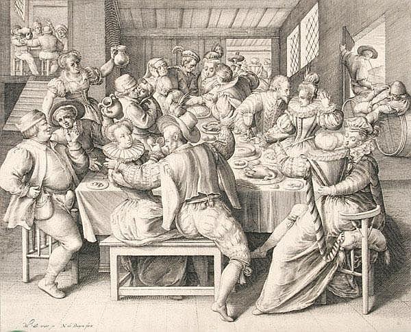 NICOLAES DE BRUYN Antwerpen 1571 - um 1656