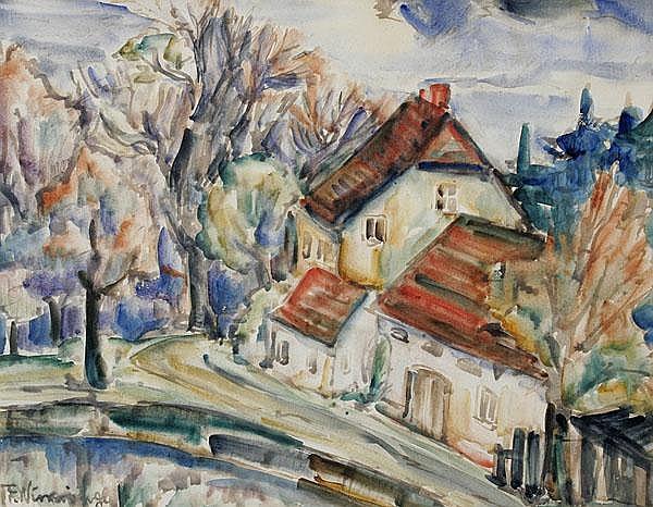 FRANZ WINNINGER Wien 1893 - 1960 Berlin Landhaus.