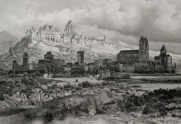 WILHELM VON ABBEMA Krefeld 1812 - 1889 Düsseldorf