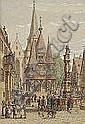 """PETER BECKER Frankfurt/M. 1828 - 1904 Soest """"am"""