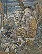 WILHELM WOHLGEMUTH Paris 1870 - 1942 Rom Hirtin, Wilhelm Wohlgemuth, Click for value