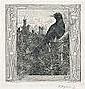 HEINRICH VOGELER Bremen 1872 - 1942 Kasachstan Die, Heinrich Vogeler, Click for value