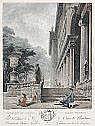 JEAN FRANCOIS JANINET 1752 - Paris - 1814 Colonade