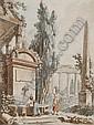 JEAN JACQUES FRANCOIS LE BARBIER Rouen 1738 - 1826 Paris, Jean-Jacques-Francois Lebarbier, Click for value