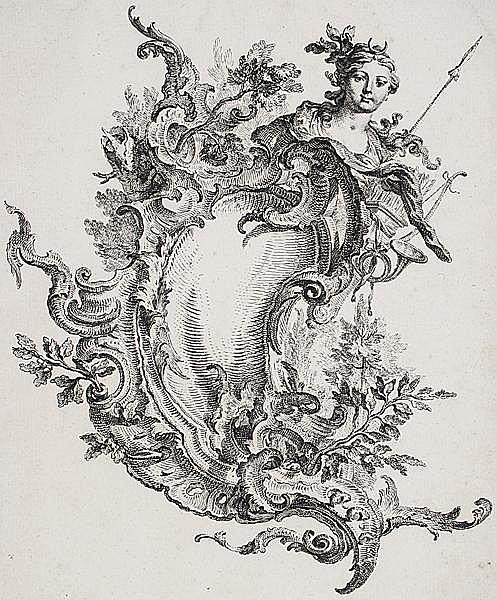 GOTTFRIED BERNHARD GÖZ Welehrad/Mähren 1708 - 1774 Augsburg