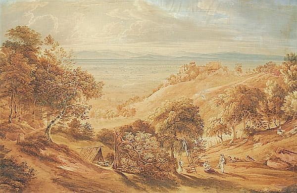 CARL LUDWIG FROMMEL Schloß Birkenfeld 1789 - 1863 Ispringen