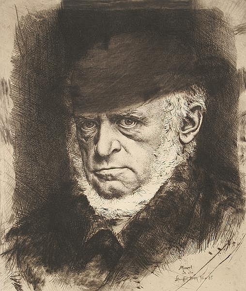 KARL STAUFFER-BERN Trubschachen/Schweiz 1857 - 1891 Florenz