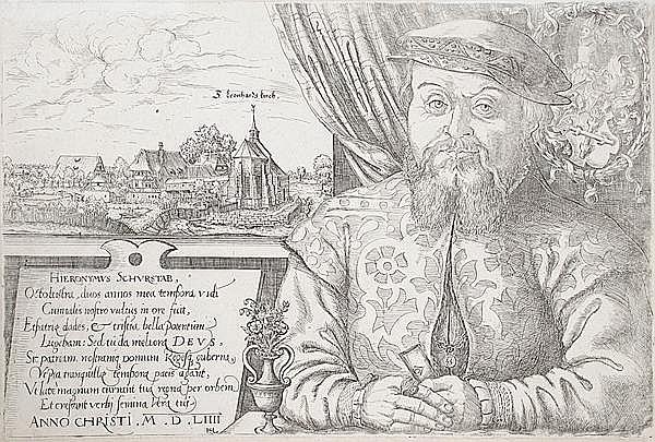 HANNS SEBALD LAUTENSACK Bamberg um 1524 - um 1563 Wien