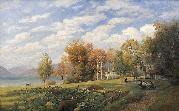 JOHANN GEORG VALENTIN RUTHS 1825 - Hamburg - 1905