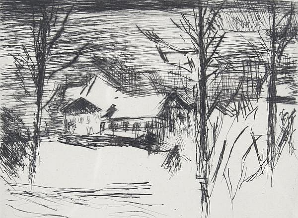 LOVIS CORINTH Tapiau 1858 - 1925 Zandvoort