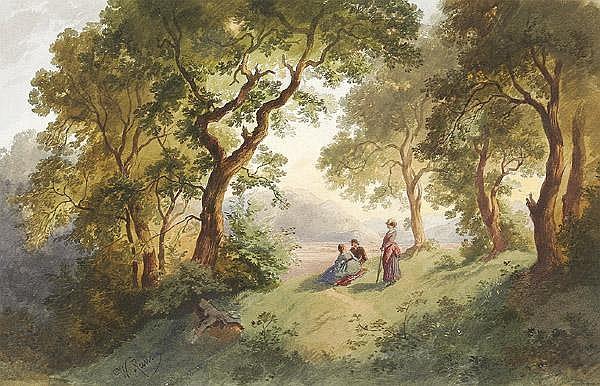 HEINRICH WOLDEMAR RAU 1827 - Dresden - 1889