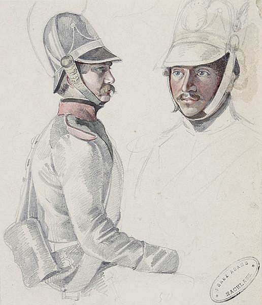 FRANZ ADAM Mailand 1815 - 1886 München
