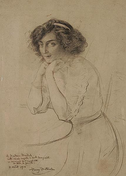 HENRI DETOUCHE 1854 - Paris - 1913
