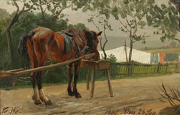 CARL WILHELM MÜLLER 1839 - Dresden - 1904