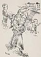 MAX UNOLD Memmingen 1885 - 1964 München Kinder auf, Max Unold, Click for value