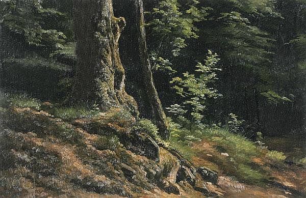 MAX WOLF Gissigheim 1824 - 1901 Heidelberg Am