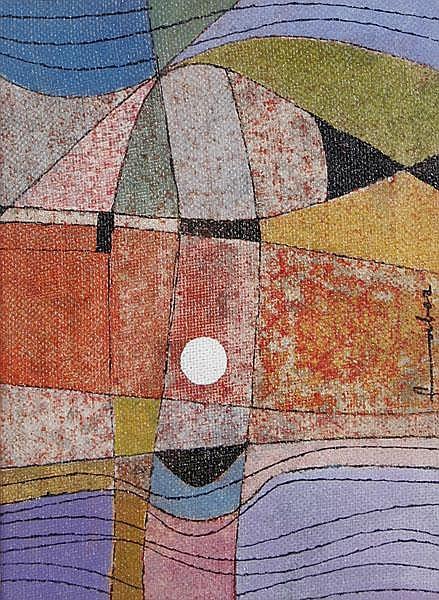 WILL FABER Saarbrücken 1901 - 1987 Ibiza Abstrakte