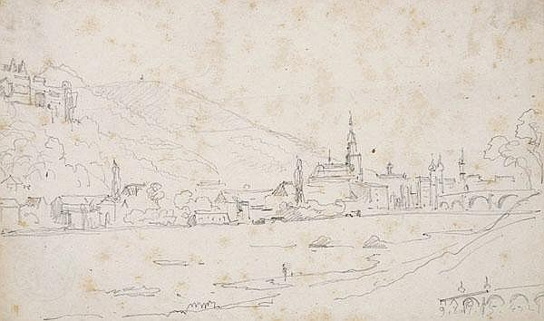 CHRISTIAN MORGENSTERN Hamburg 1805 - 1867 München