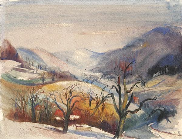 WILL SOHL Ludwigshafen 1906 - 1969 Heidelberg