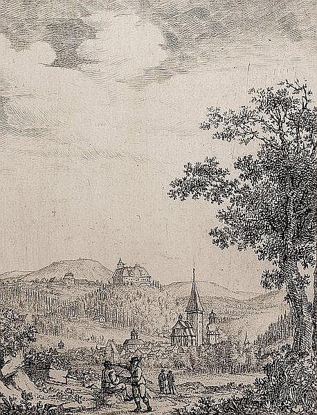 CONRAD HORNY Mainz 1764 - 1807 Weimar