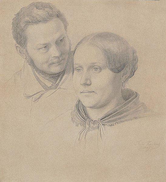 FRIEDRICH KAULBACH Bad Arolsen 1822 - 1903