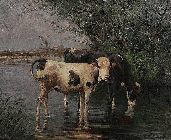 JOHANN DANIEL HOLZ Bremen 1867 - 1945